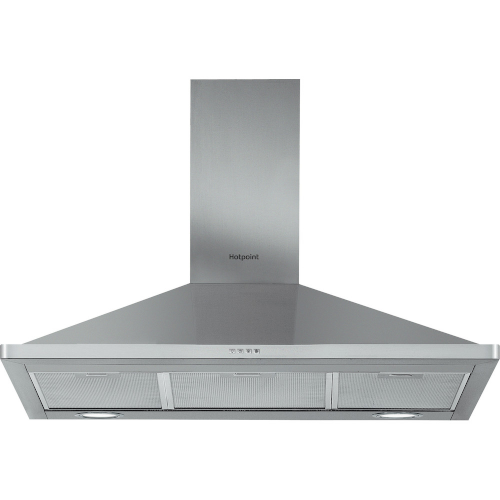 Hotpoint PHPN95FLMX Cooker Hood Stainless Steel